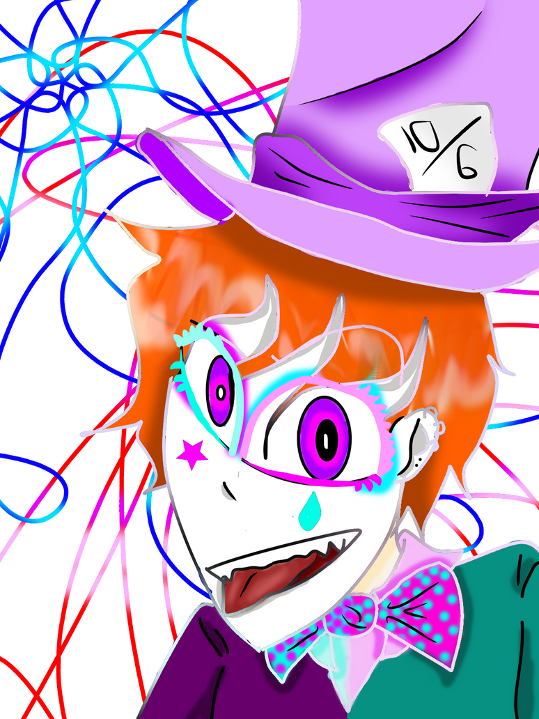 Mad Hatter by Iamtheturtleartist
