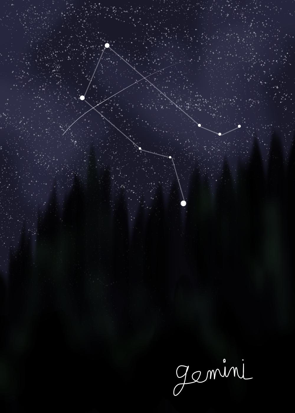 Gemini by Iamtheturtleartist