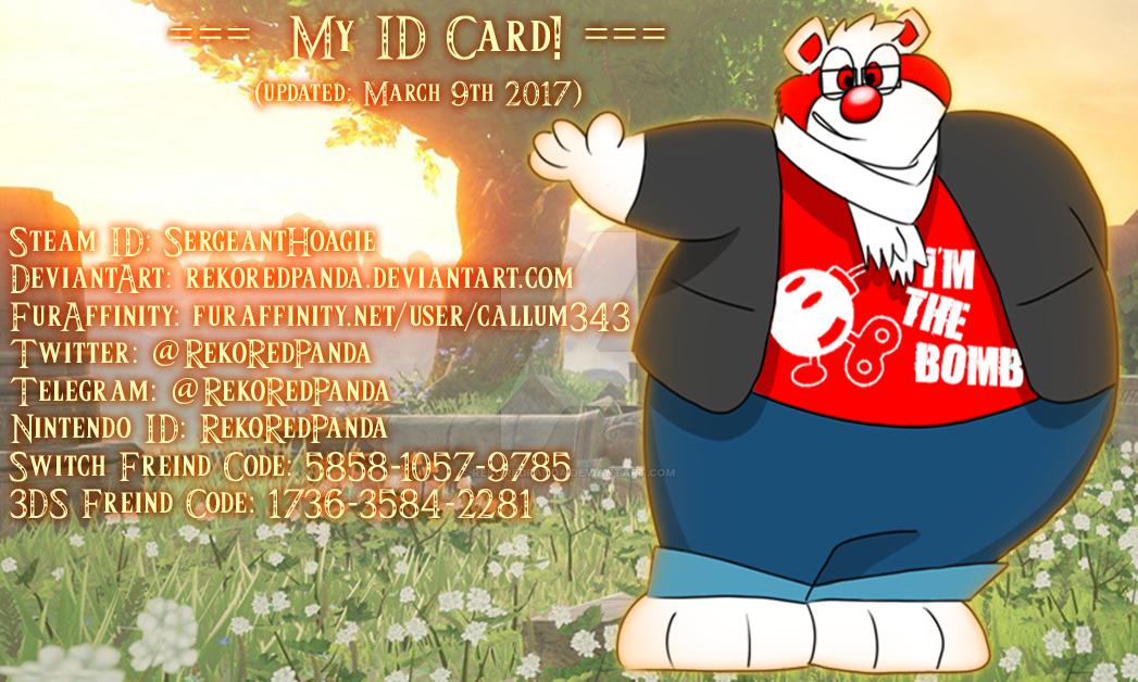 ID CARD by RekoRedPanda
