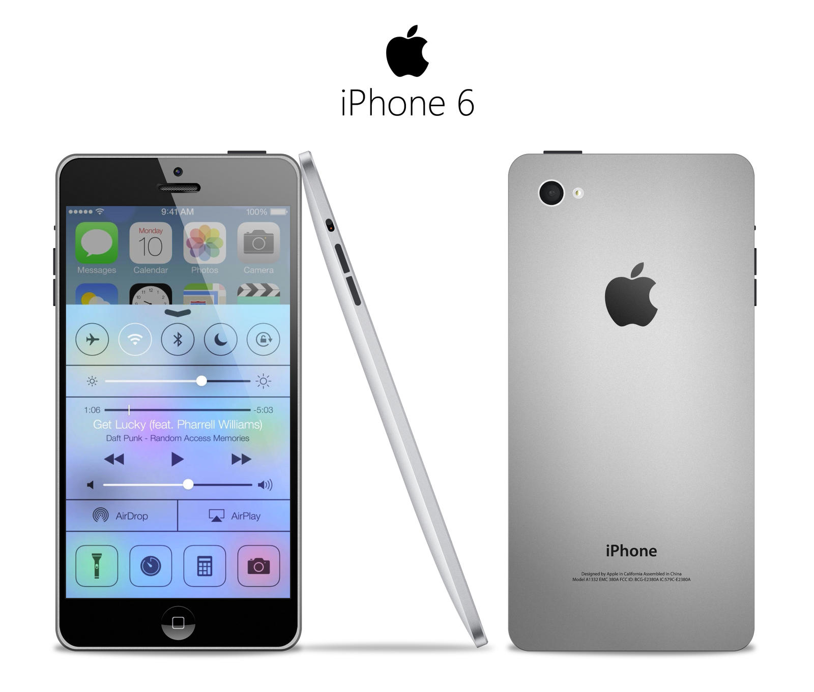 iPhone 6 Concept by iNasko