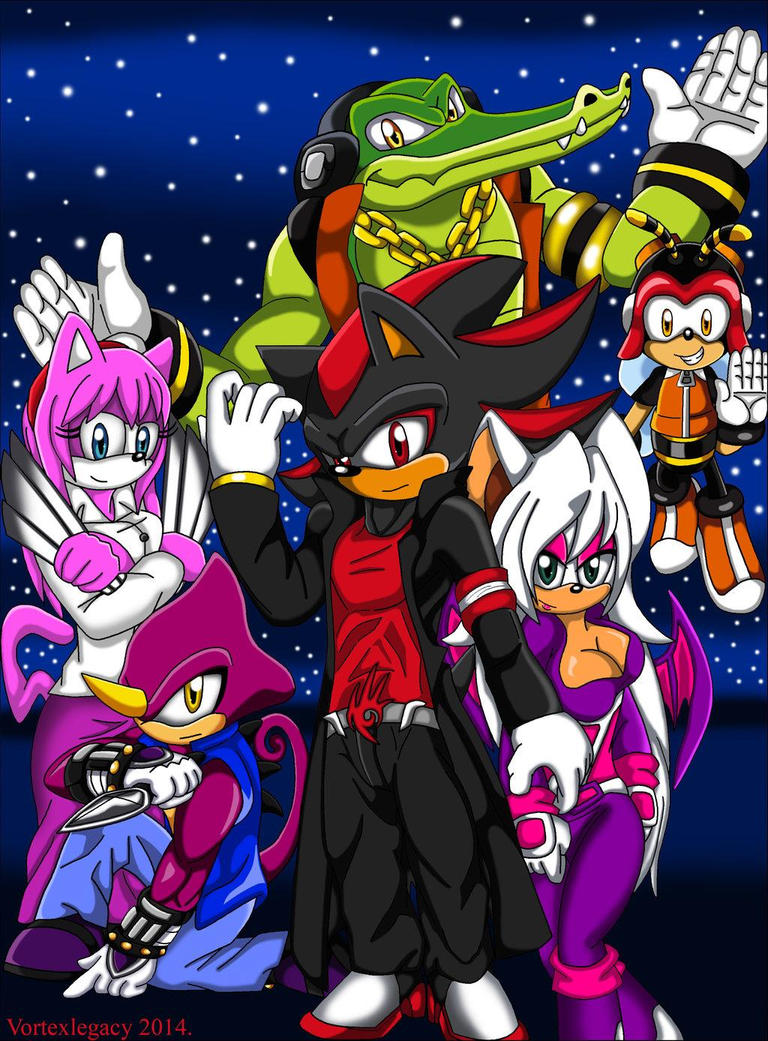 Shadow Zero: The Chaotix Detective Agency by shadrougeforever