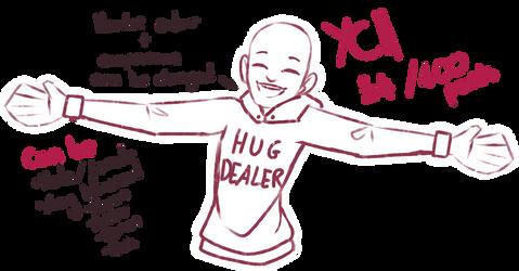 [YCH] Hug Dealer OPEN