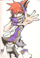Neku - The World Ends With You by GrettaGrzz