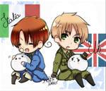 Chibi Italy and UK