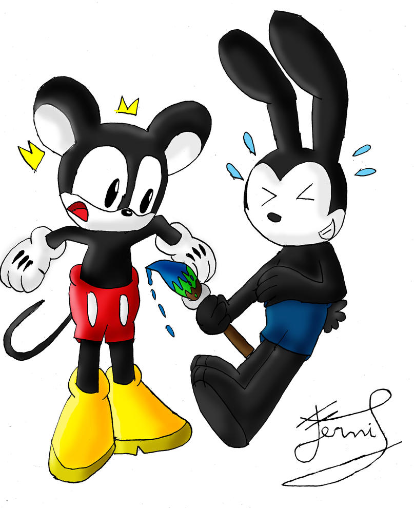 Oswald changed to Mickey to SS by Ferni21 on DeviantArt