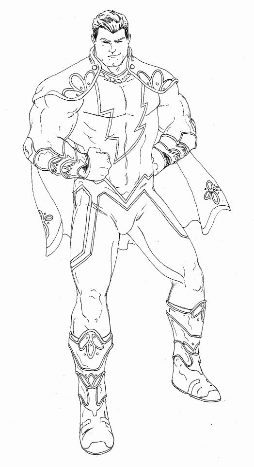 Shazam Redesign by pc20water on DeviantArt