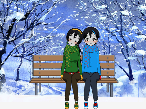 Sitting here in the cold weather (REMAKE)