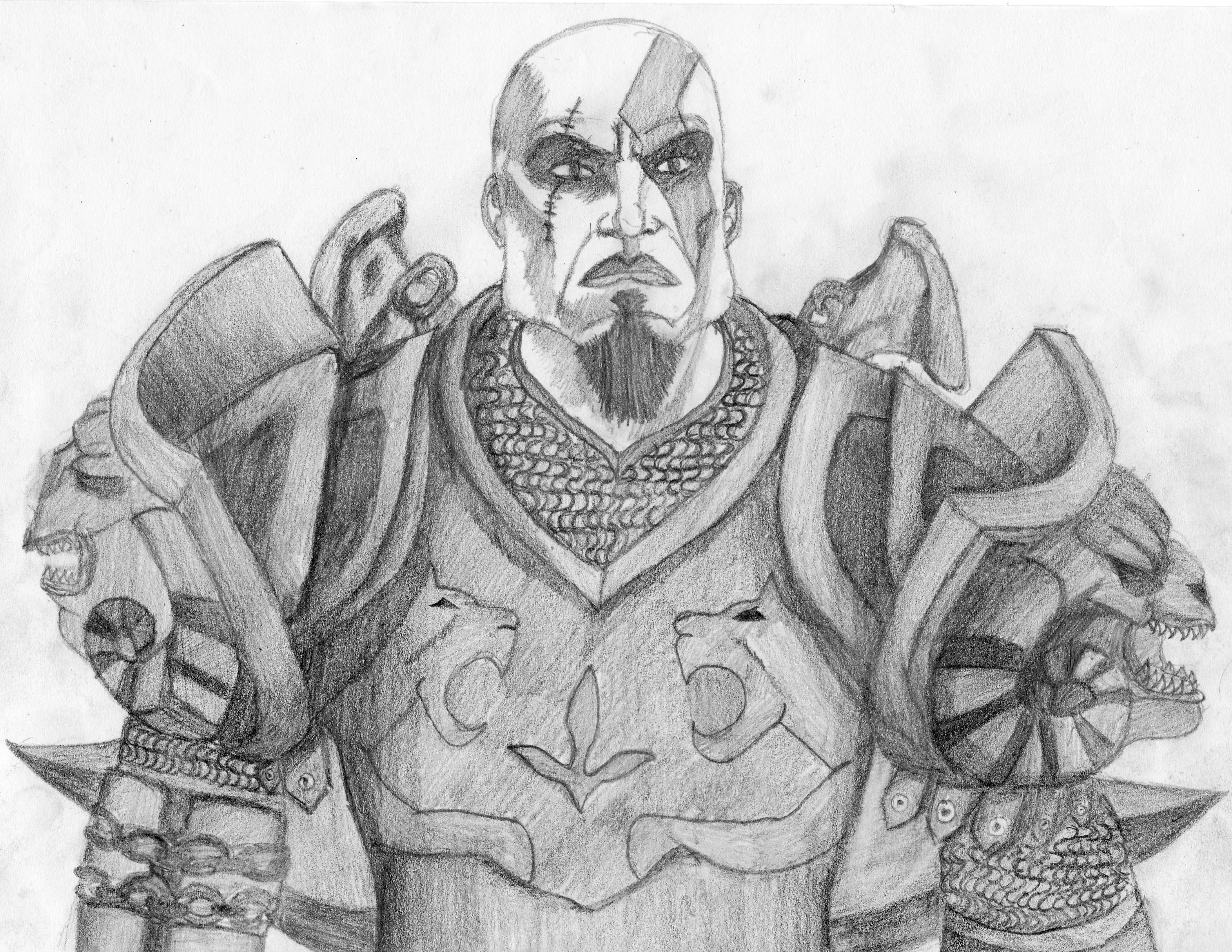 Kratos God Armour By Iamyourhuman42 On Deviantart