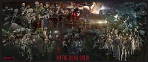 Metal Gear Solid Saga (V1) by marblegallery7