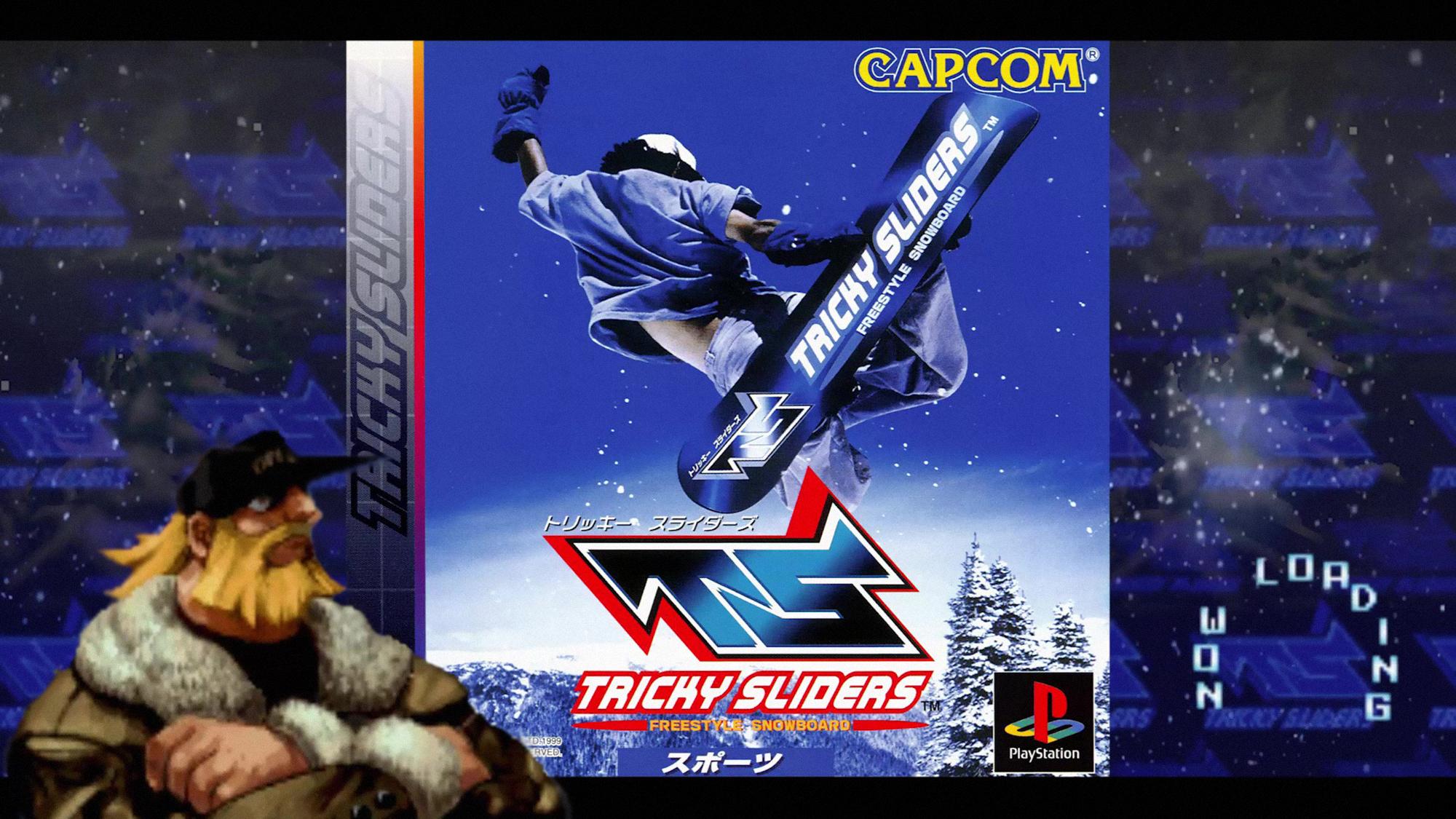 Capcom's Tricky Sliders by marblegallery7