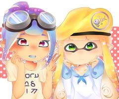 Inky Duo!! by Starry-Lemon