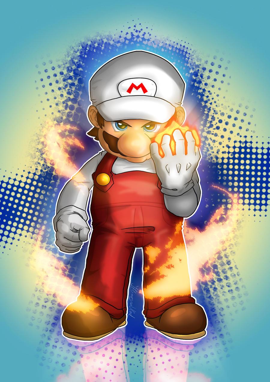 Mario Fire Starter by IAmSamael