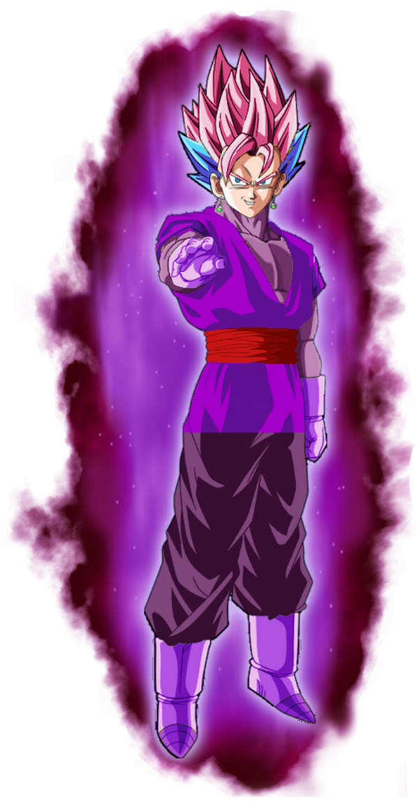 black copy vegetto ssj rose and blue by gogetta999 on
