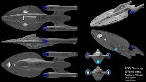 Delphis Class Research Vessel by kjc733