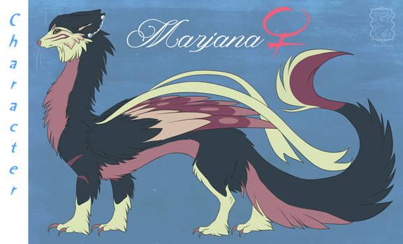Marjana Shimmering Dragon OC [[Lifes of Cetris]]
