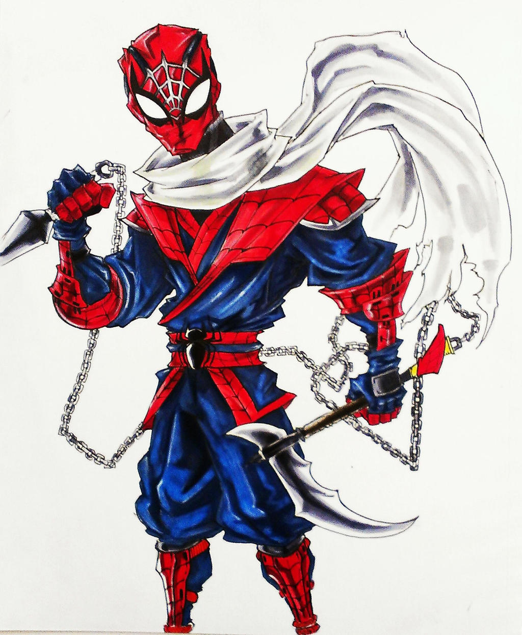 Ninja Spider Man