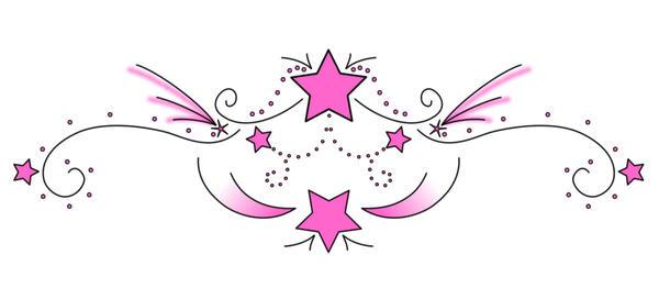 MorenaBrazil 25 4 Girly Star Tattoo X Leila x 5 FREEHAND FLOWER