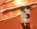 Ike x Elincia: Love at Sunset