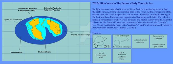 Future Continent - 700 MY