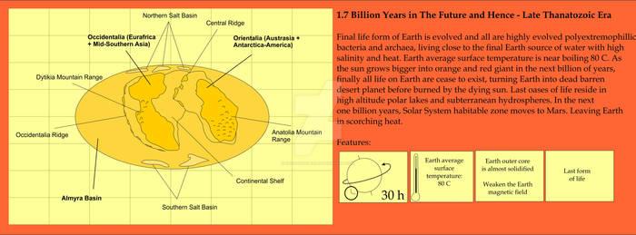 Future Continent - 1700 MY