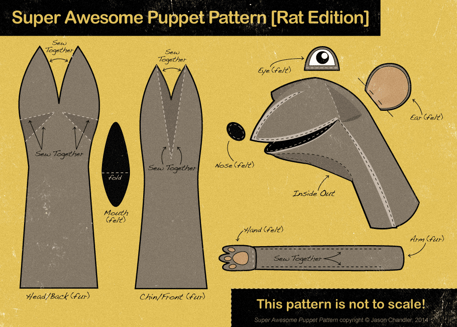 Super Awesome Puppet Pattern By JasonChandler On DeviantArt Gorgeous Puppet Patterns