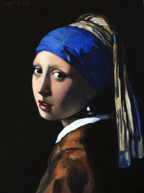 girl with the pearl earring essays Girl with a pearl earring (dutch: meisje met de parel) is an oil painting by dutch golden age painter johannes vermeer it is a tronie of a girl wearing a headscarf and a pearl earring.