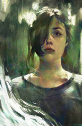 Portrait Study by Camille-Marie