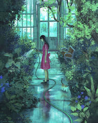 Greenhouse by Camille-Marie