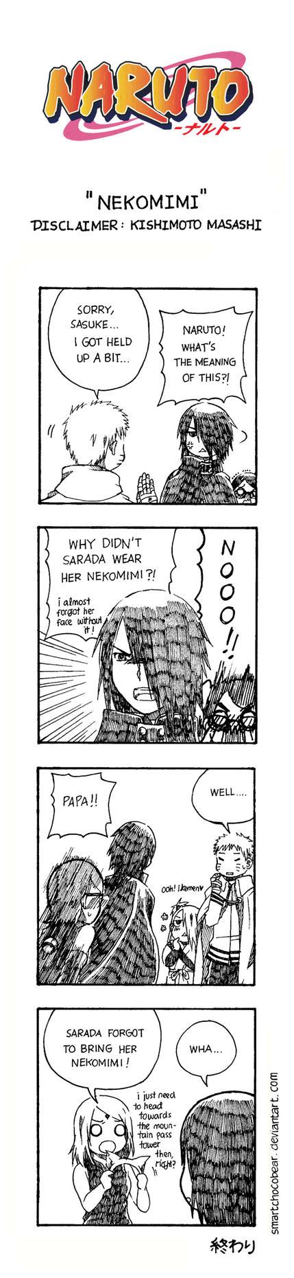 Naruto Doujinshi - Nekomimi by SmartChocoBear