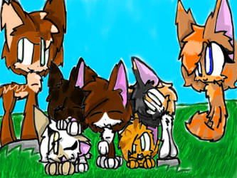Secrect StarClan: We Are Family~ by TheRedBrownChibi