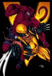 Wolverine and Hellboy