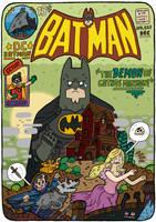 Batman Cover by captainalec