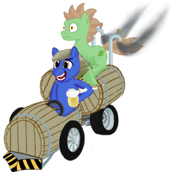 Ponycart Beermobile
