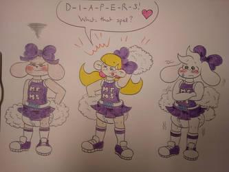Cheerleaders by BabyBunnyBoy