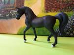 Breyer Arabian Unicorn Stablemate to Blue Black