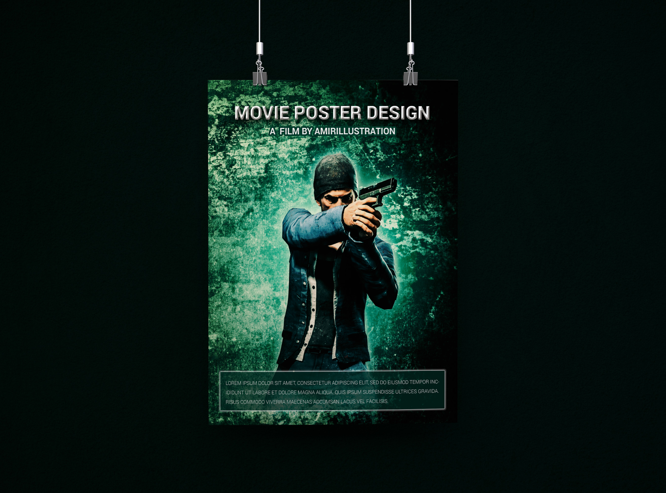 Free Download Movie Poster Template By Amirillustration On Deviantart