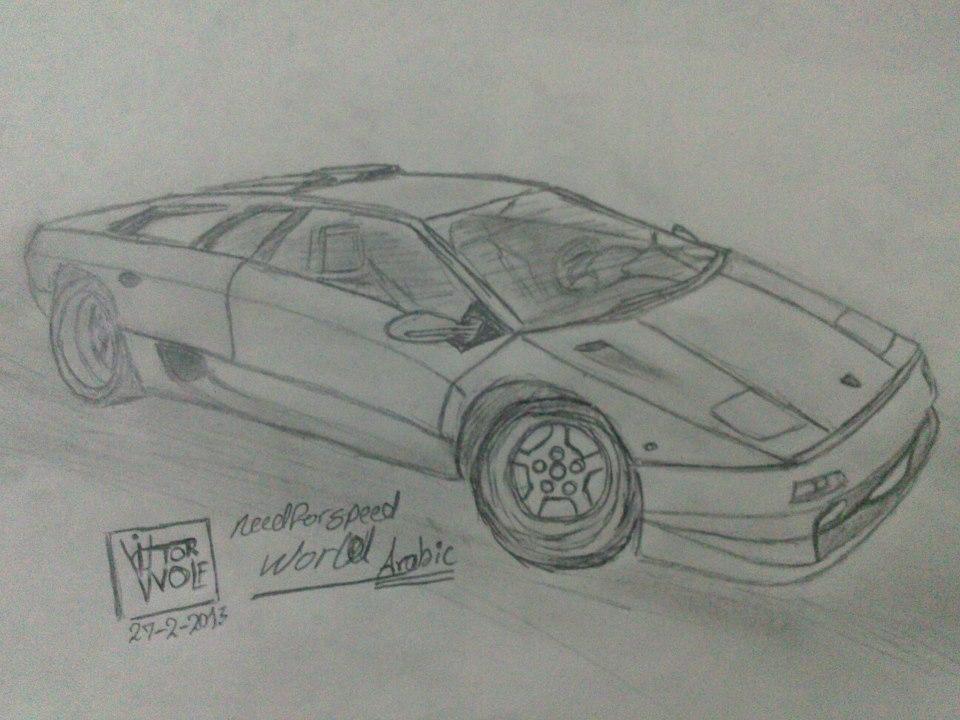 Lamborghini Diablo by Rocker005