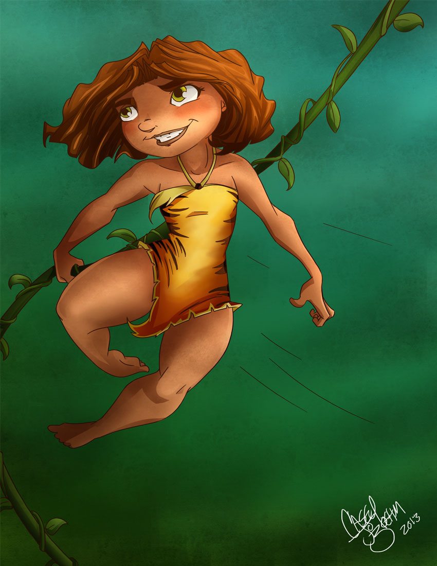 meet the croods characters eep