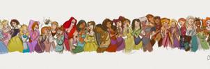 Disney Girls by Chansey123