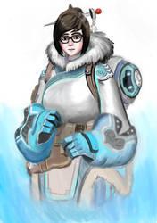 Mei from Overwatch by elfoxyx