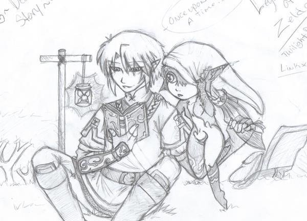 Bedtime Story-LinkxMidna by Sasuke323