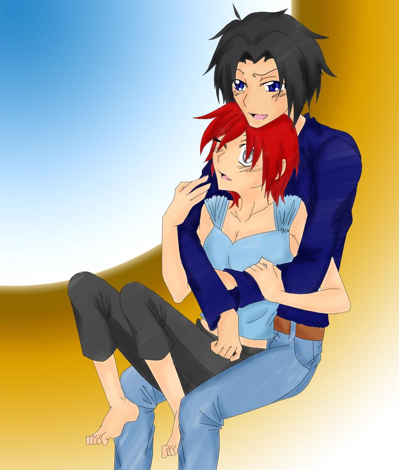 .::BenjiroxTia 1st Prize::. by Sasuke323