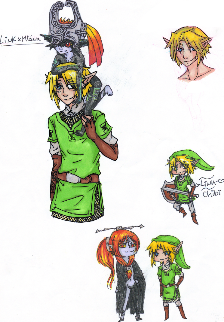 LoZ: LinkxMidna by Sasuke323