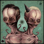 Two Head by Fleshgoredon