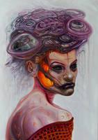 Neon Witch by Fleshgoredon