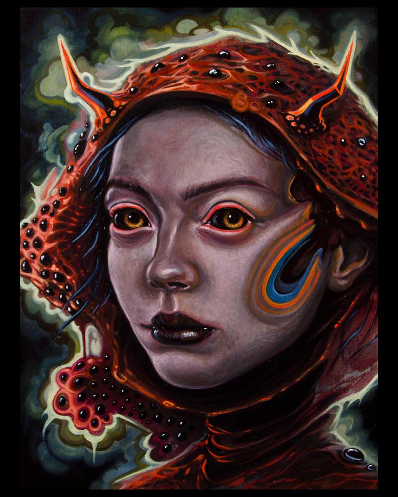 Shroom Vampire by Fleshgoredon