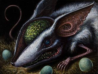 Egg Thief by Fleshgoredon