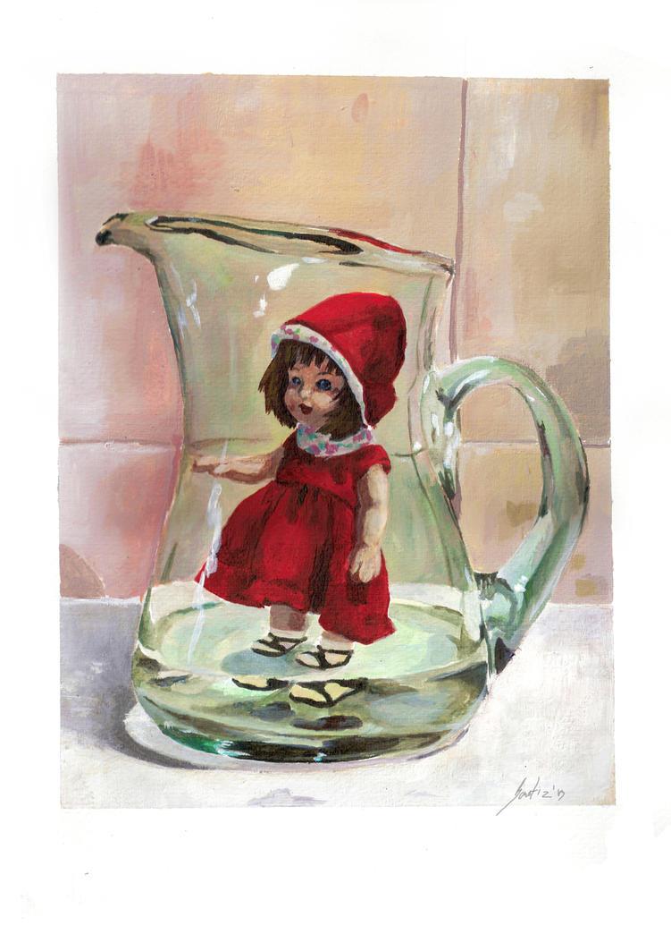 Alice. The Jar's Girl by saetiz