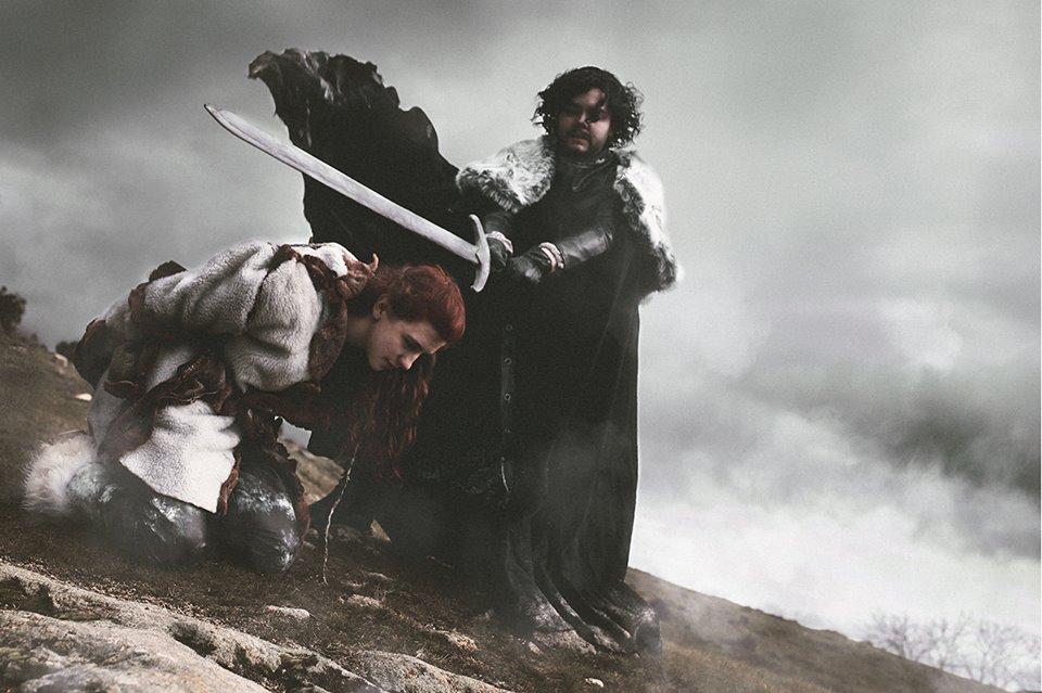 Make it quick, Jon Snow by saetiz