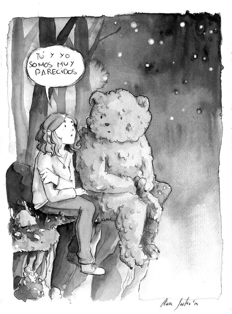 The bear by saetiz